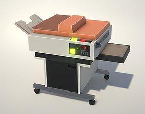 3D model Vintage Retro Photocopier