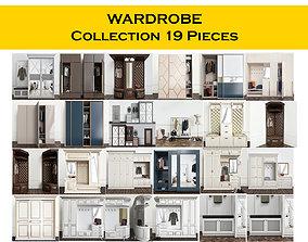3D model WARDROBE Collection 19 Pieces