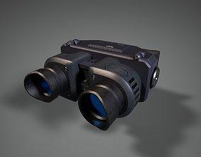 3D asset Binocular Scifi Futuristic PBR