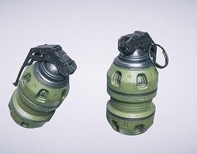 Sci Fi Grenade 3D model PBR