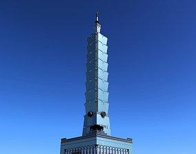 3D Taipei 101