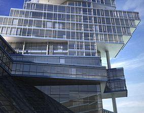 3D Scene Of Skyscraper