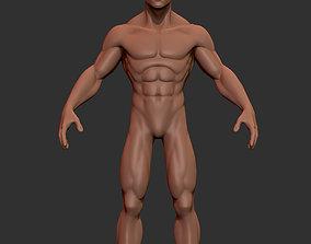 3D model Hero Stylized Basemesh