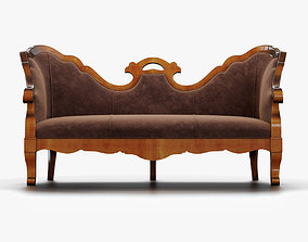 Annibale Colombo Sofa A741 Historical 3D model