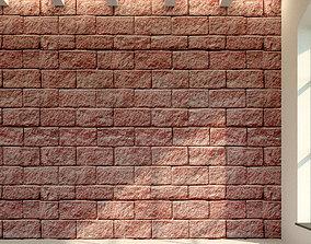 Brick wall Old brick 18 3D model