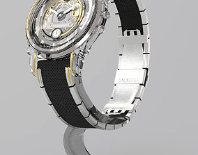 rolex 3D model Custom Design Watch