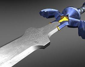 3D asset realtime Master Sword