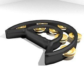 3D model Musical Instrument Tamborin