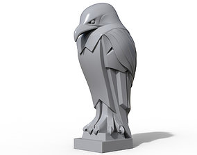 Eagle stylized statue Printable