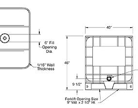 3D printable model compliant Compliant Tank