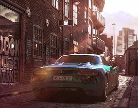 Audi R8 Spyder GameReady 3D asset