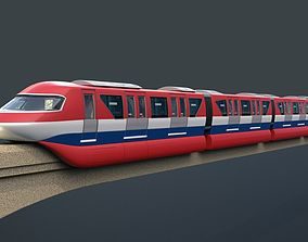 3D Monorail train