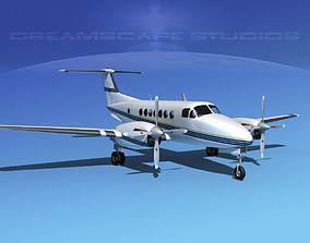 Beechcraft 350 Super King Air V01 3D model