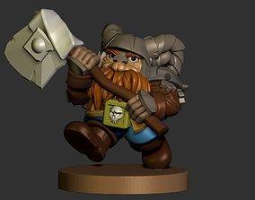 3D printable model dwarf