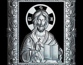 55 RELIGION ICON Jesus Christ 3D STL Model for CNC Router