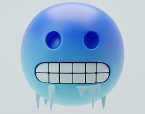Freezing Emoji 3D