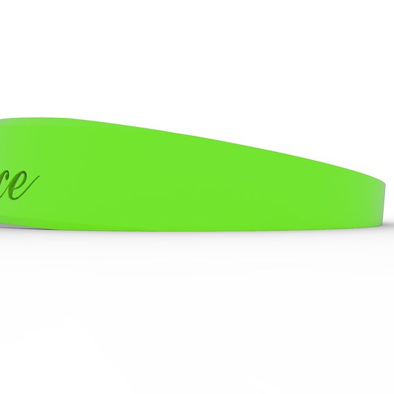 Patience Female Ring Paint Matte Green