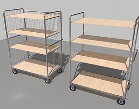 Warehouse Trolley pack 2 3D model