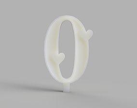Birthday Candles Mould for Silicone 3D print model 2