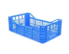 3D model Plastic crate 41