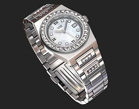 3D rigged Luxury watch for women my own design