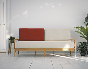 3D Sofa Danes fifties