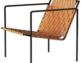 3D model Eric Trine Rod Weave Chair