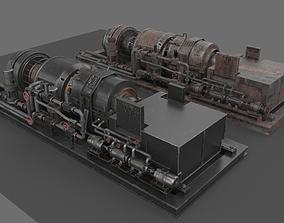 3D model Machinery device machinery