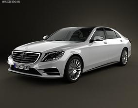 3D model Mercedes-Benz S-Class W222 2014