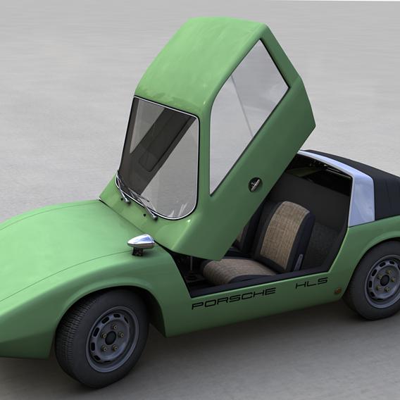 PORSCHE 911 HLS 1967 3D