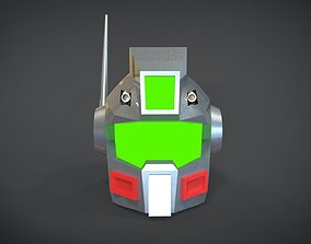 3D asset game-ready GM variant Head