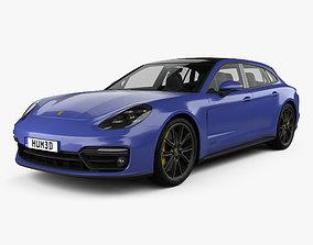 3D Porsche Panamera GTS Sport Turismo 2019