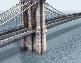 3D Brooklyn Bridge New York