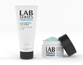 Lab Series Invigorating Face Scrub for Men 3D