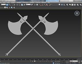 Axe of Executions 3D asset