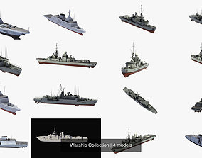 3D Warship Collection
