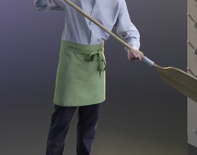 3D model Felix 10144 - Standing Pizza baker