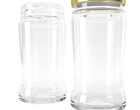 3D model jar glass type1