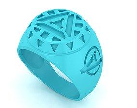 Avenger signet ring 3D printable model