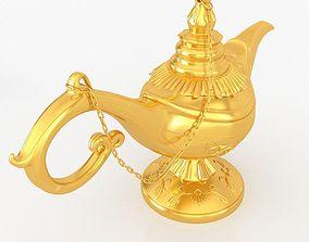 3D asset Aladdin lamp