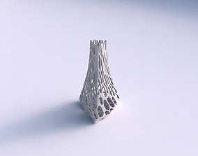 3D printable model Vase grounded triangle