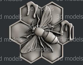 cnc 3d STL models for CNC router bee