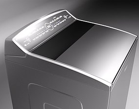 3D model Whirlpool Smart Cabrio washer