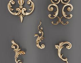 3D Trim Ornament 103
