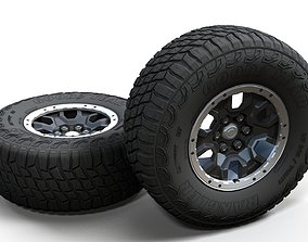 Offroad custom 4x4 wheel 3D