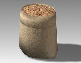 3D model Bag 04 wheat bag