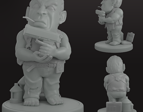 3D model Bruce Willis John McClain Die Hard