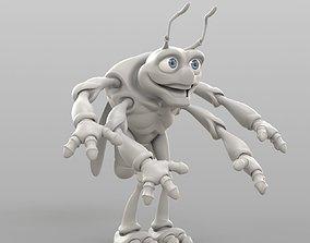 3D Cartoon Cicada