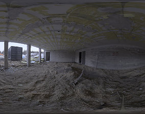 3D Industrial Area HDRI - Demolition Site