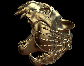 3D animated Tiger head